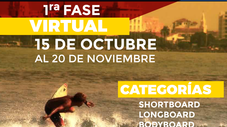 Lanzamiento Campeonato Nacional de Surf 2020