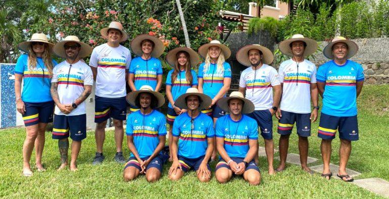 Selección Colombia de Surf buscará en playas de El Salvador alcanzar el sueño olímpico